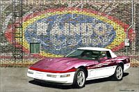 She's Like A Rainbow, 1995 Corvette Pace Car, Item #DF25037