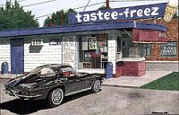 The Taste Freez, 1963 Corvette Coupe, Item #DF25040
