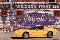 Wilbur's Fruit Market, Corvette Z06, Item #DF25046