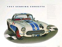 12hrs. of Sebring, Corvette #4, Item #HP27903