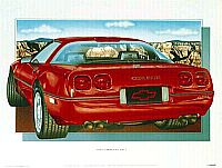 1990 ZR-1 Corvette, Item #HP27914