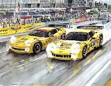 C6.R at Le Mans, Corvette C6.R #63 #64, Item #UE6364LM05