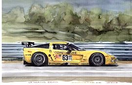 C5-R at Le Mans, Corvette C5-R #63, Item #UE63LM05