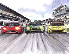 24hrs. of Le Mans, Ferrari, Aston Martin, Corvette, Item #UE665963LM05