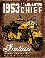 1953 Indian Roadmaster • TIN SIGN • #IN1932TS
