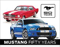 Ford Mustang • 50 YEARS Tin Sign • #FM1993TS