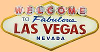 Welcome to Las Vegas Embossed Tin Sign • #HR103432TS