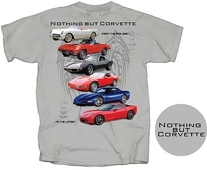 Nothing But Corvette • Front and Back Design • #C16T1317