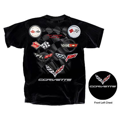C1 - C7 The Legend Lives ON Corvette T-Shirt • #C17T16707