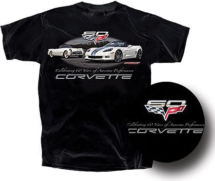Corvette Celebrating 60 Years • Front and Back Design • #C6T1366