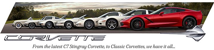 Corvette, we have it all!